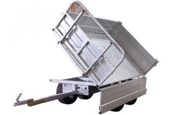 Perävaunu – 1500 kg kapasiteetti 3-suuntaisella kallistusvaihtoehdolla