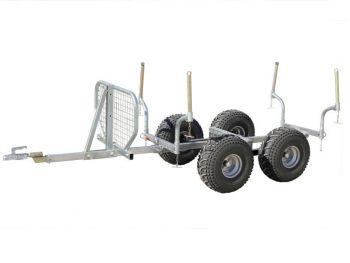 Puutavara perävaunu - 1000 kg kapasiteetti