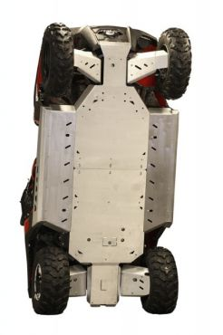 Skid plates täysi sarja - Polaris RZR 800