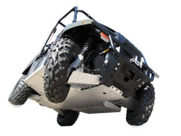 Skid plates täysi sarja - Polaris 400 Ranger