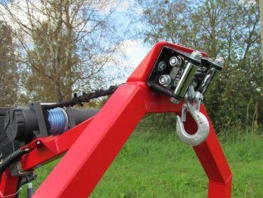 Sähkövinssisarja ATV puunkantolaitteelle