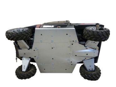 Skid plates täysi sarja - Polaris 900XP Ranger