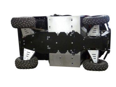 Skid plates täysi sarja - Polaris 570 Ranger