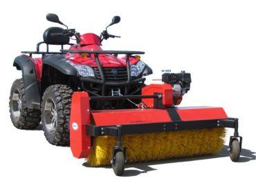 ATV pyörivä harja, 6.5 hp B&S moottori