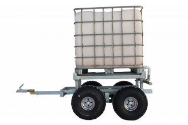 ATV puutraileri + VESITANKKI (1000L)