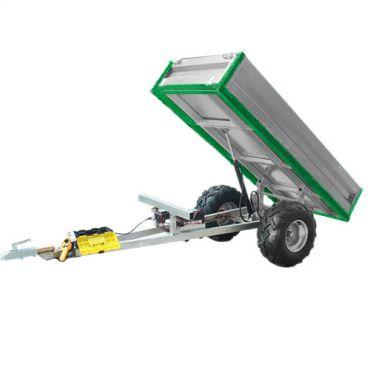 Hydraulinen kippiperävaunu (kantavuus 600 kg)