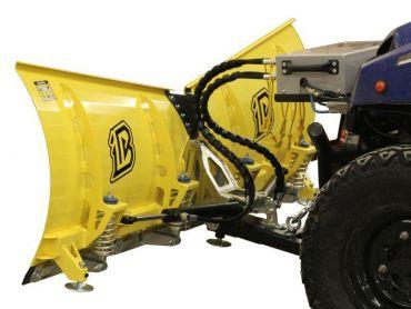 Universal V-Pro Lumiaura -sarja ATV:lle - 180cm Lapa - hydraulinen kääntöversio