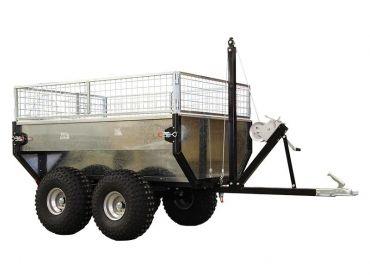 Perävaunu 1000 kg kapasiteetilla