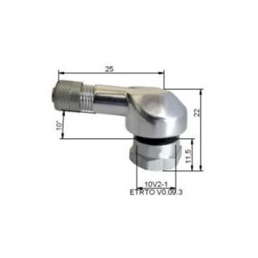Alu rengasventtiili  Ø11,5mm Silver