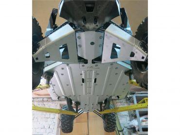 RIVAL Skid plate ALUMIINI Can-Am Maverick X3 XDS/XRS