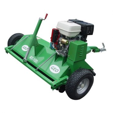 ATV 120 Varstasilppuri 13HP Diesel moottorilla
